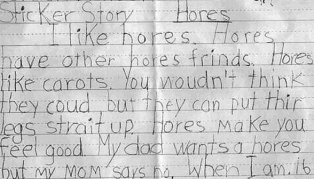 the importance of spelling correctly