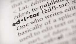 What is an editor?