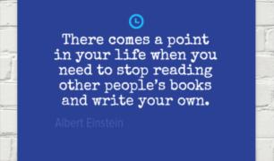 Einstein on Writing
