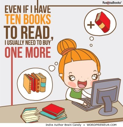 Even if i have ten books to read...