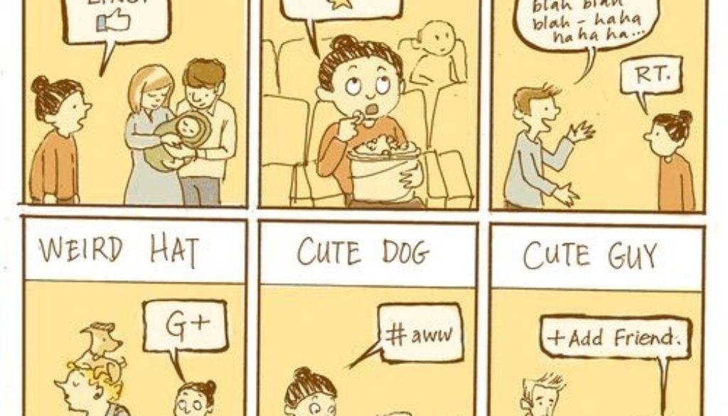 Social Media in Real Life