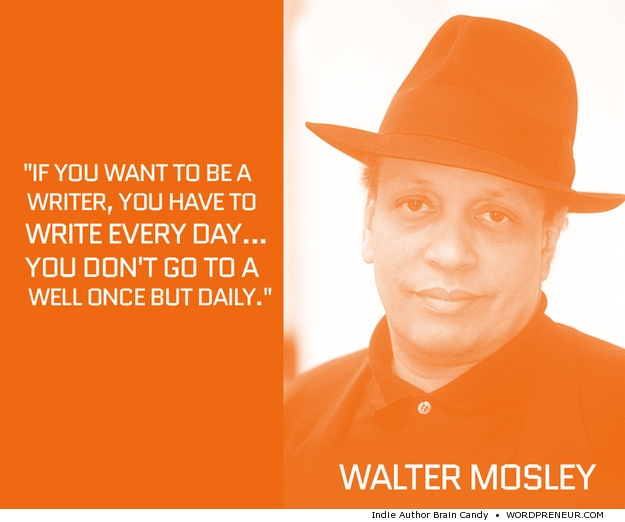 Walter Mosley on How Often to Write