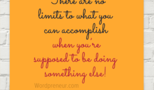 There are no limits to what you can accomplish