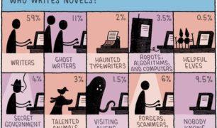 Who really writes novels?