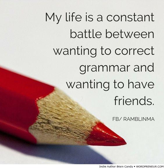 Writer's Constant Battle