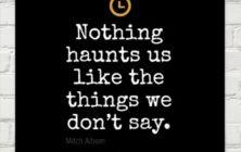 Mitch Albom on What Haunts Us