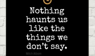 Mitch Albom on What Haunts Us