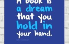 Neil Gaiman - A book is a dream