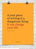 Tobias Wolff on the Dangers of Writing