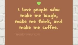 Who I Really Love funny quote