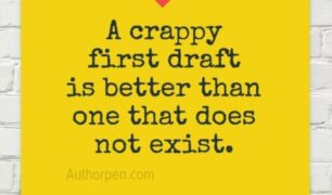 Writer Motivation: A Crappy First Draft