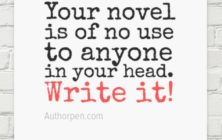 Writer Motivation: No Use to Anyone