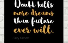 Writer Motivation: Doubt Kills