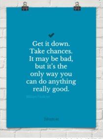 Writer Motivation: Get It Down