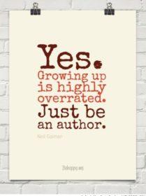 Writer Motivation: Growing Up