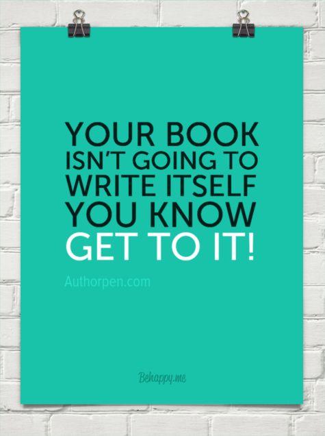Writer Motivation: No it Won't