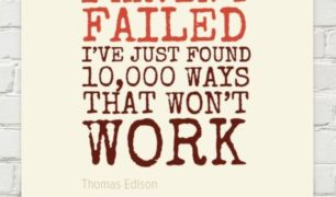 Thomas Edison Quote - I Haven't Failed