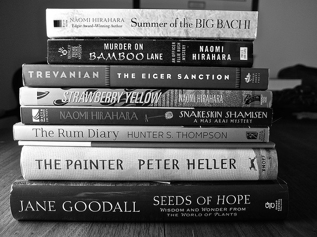 books black-and-white