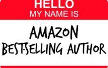 hello my name is amazon bestselling author