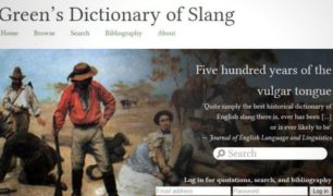 The Largest Historical Dictionary of English Slang Now Free Online