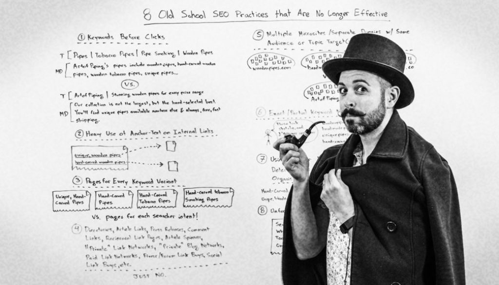 8 Old School SEO Practices That Are No Longer Effective
