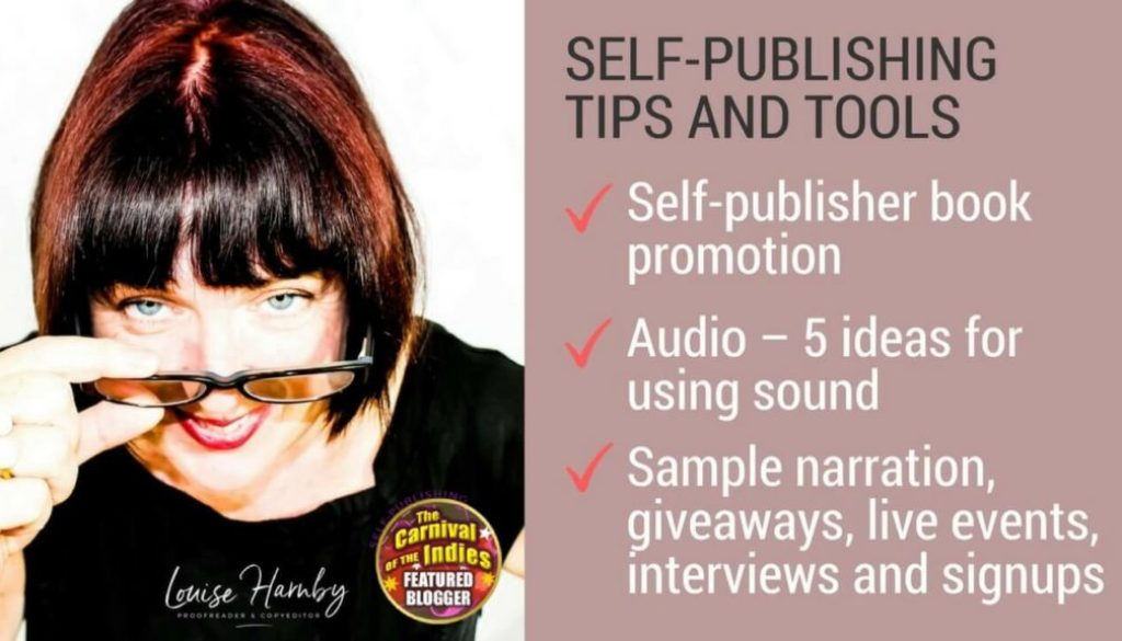 5 ways to use audio for book marketing and reader engagement – Louise Harnby | Proofreader & Copyeditor