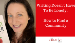 Writing Doesn't Have To Be Lonely. How To Find A Community   The Creative Penn