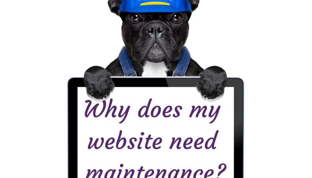 Website maintenance. Why does my site need it?