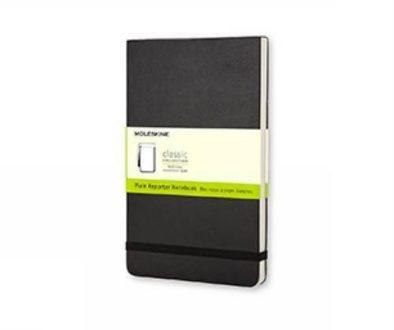 moleskine reporter notebook
