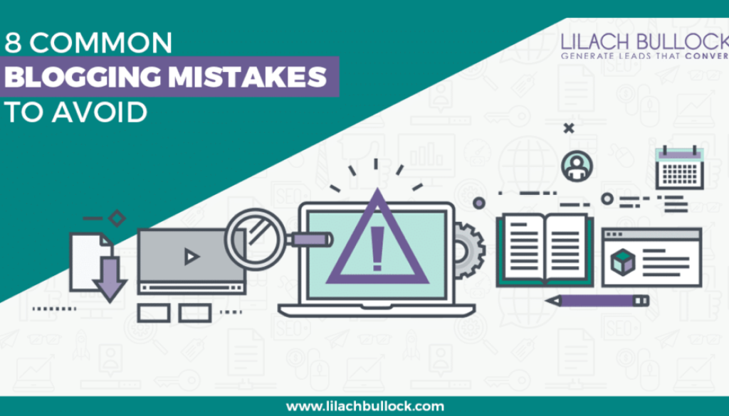 8 Common blogging mistakes to avoid