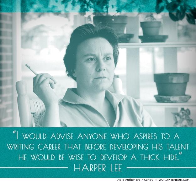 Harper Lee Writing Career Quote