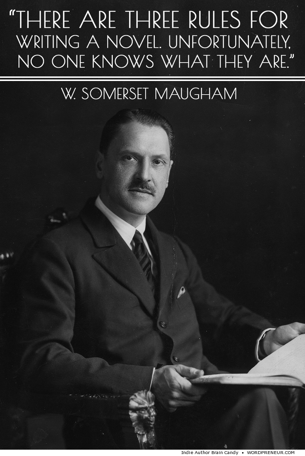 W. Somerset Maugham on Writing Novels