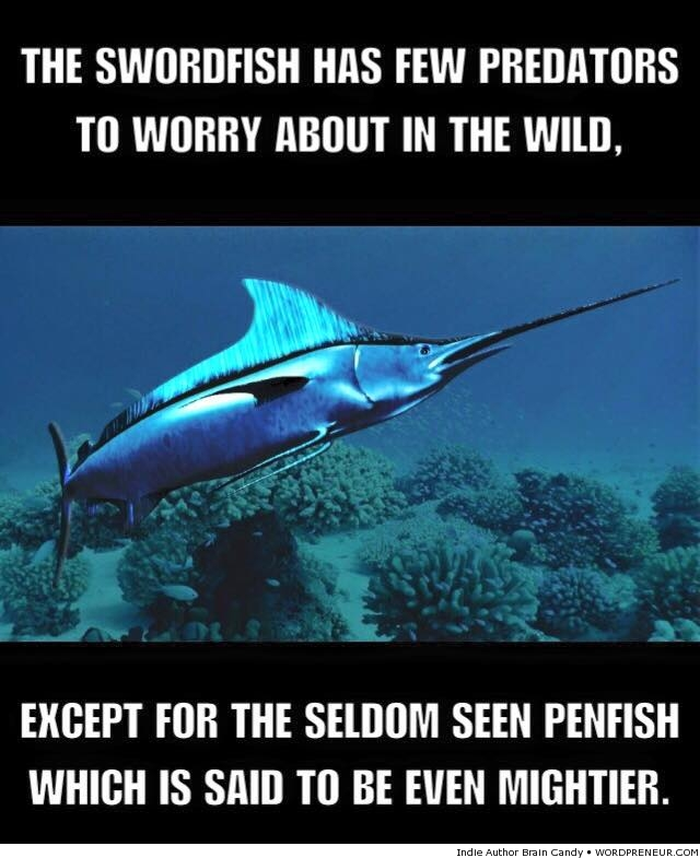 The Mighty Swordfish is Mighty