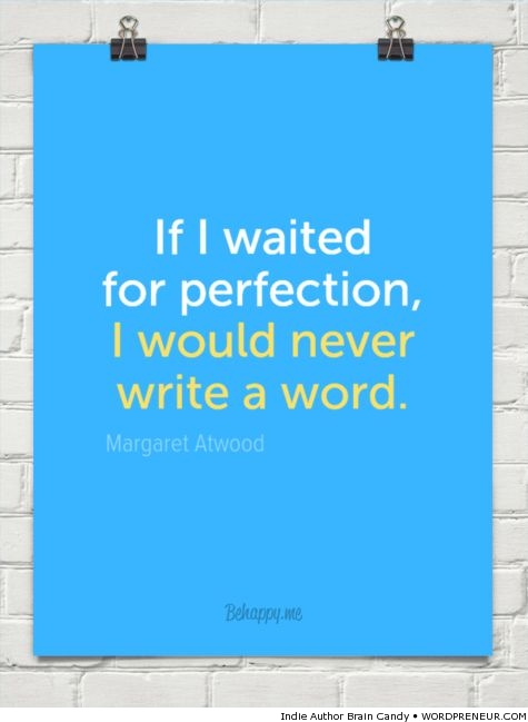 Margaret Atwood on Perfection