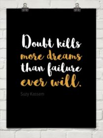 Writer Motivation: Doubt Kills