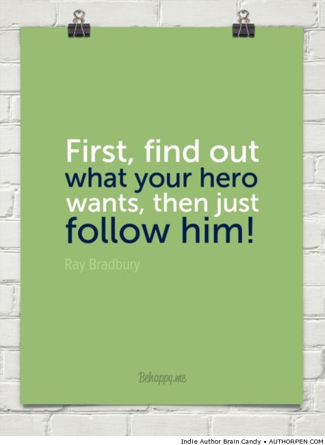 Writing Tip: Write Your Hero's Story