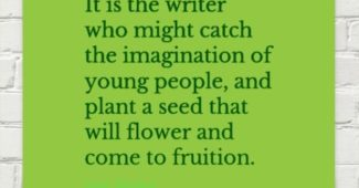 Writer Inspiration: Plant a Seed