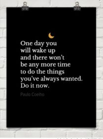 Writer Motivation: One Day You Will Wake Up