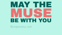 May the Muse Be With You