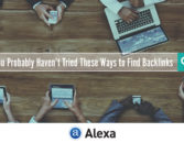 You Probably Haven't Tried These Ways to Find Backlinks – Alexa Blog