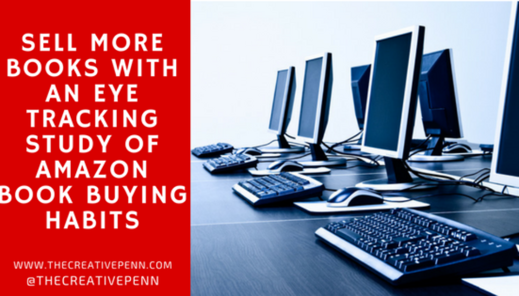 Sell More Books With An Eye Tracking Study of Amazon Book Buying Habits | The Creative Penn