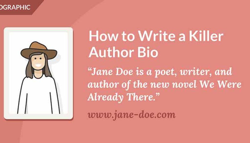 How to Write a Killer Author Bio • The Reedsy Blog