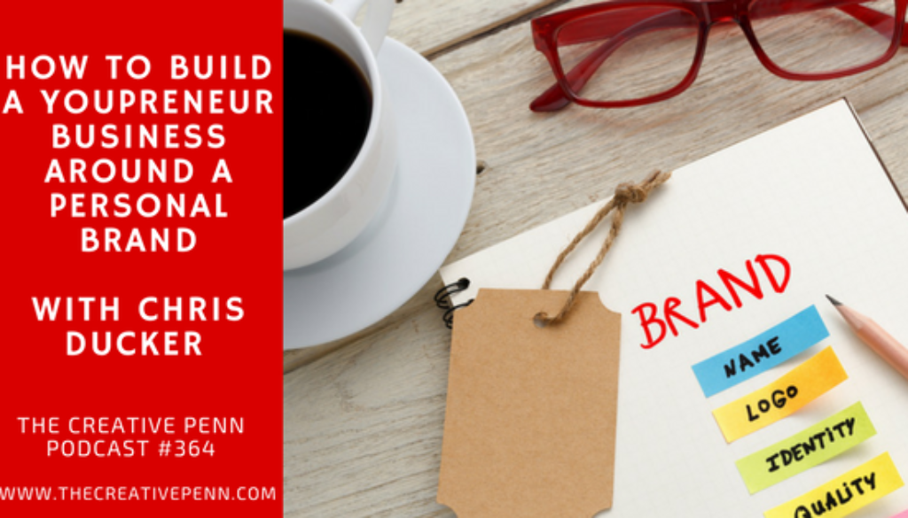 How To Build A Youpreneur Business Around A Personal Brand With Chris Ducker | The Creative Penn