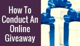 How To Conduct An Online Giveaway – Christian Editing Services