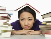 Bored-Woman-with-Books