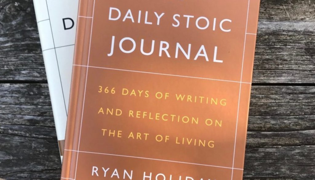 the daily stoic journal cover