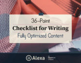 36-Point Checklist for Writing Fully Optimized Content