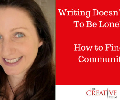 Writing Doesn't Have To Be Lonely. How To Find A Community | The Creative Penn