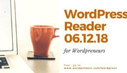 wordpress reader 061218