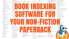Choosing Book Index Software for your nonfiction paperback – Birds of a Feather